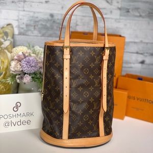 ✅ Authentic LOUIS VUITTON ✅Bucket GM (Large) Bag